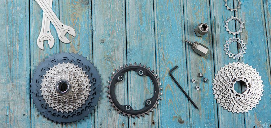 Välja rätt cykeldelar för året