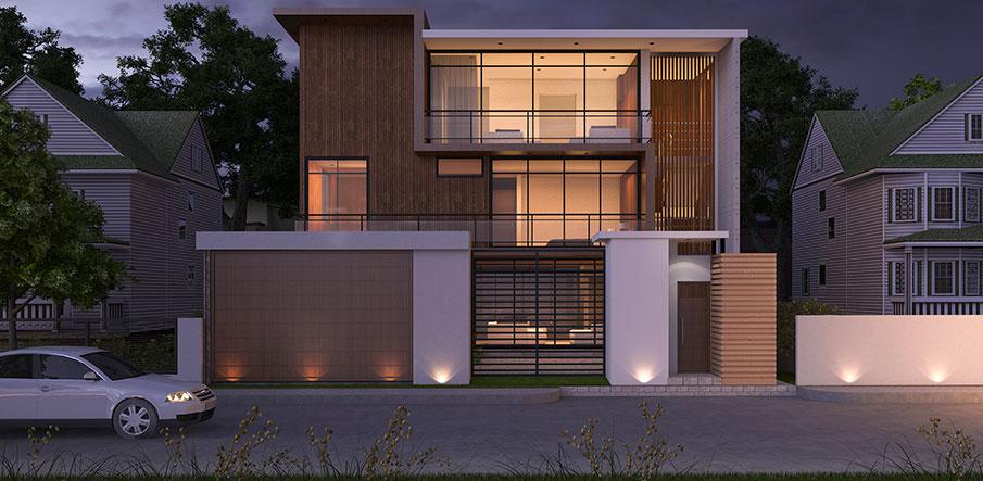 Bygga ett arkitektritat hus